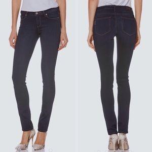 PAIGE Skyline Mid-Rise Stretch Skinny Jeans